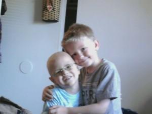 Michael Worosila and brother Joey
