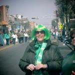 Green Hair at the St. Paddy's Bayonne Parade