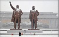 Statue of North Korean Leaders www.riverviewobserver.net