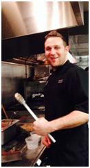 Chef Chris Nirschel of Taphaus biergarten in Jersey City