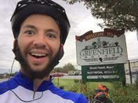 Henry Greenfield bike rider