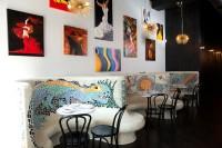Inside Raval restaurant