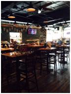 Bar at HopsScotch JC