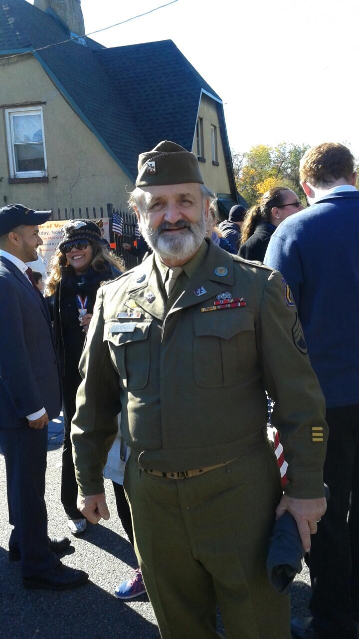 World war 11 uniforma worn by Mark Giannullo