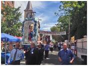 Street procession La Festa Italiana