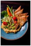 Delicious Hummus dish at Cellar 355