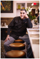 Giner the man behind the food at La Isla uptown Hoboken