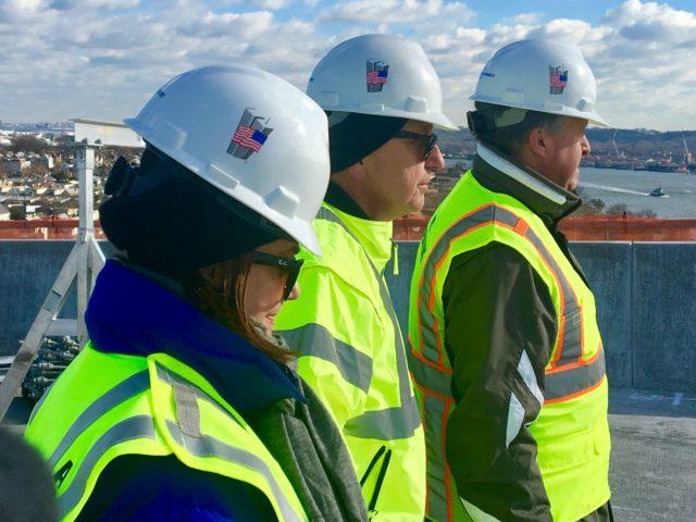 bayonne bridge Construction tour