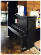 Piano at Salumeria Ercolano Jersey City