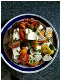 Caprese Salad Salumeria Ercolano Jersey City