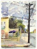 Jersey city artist Steve Singer