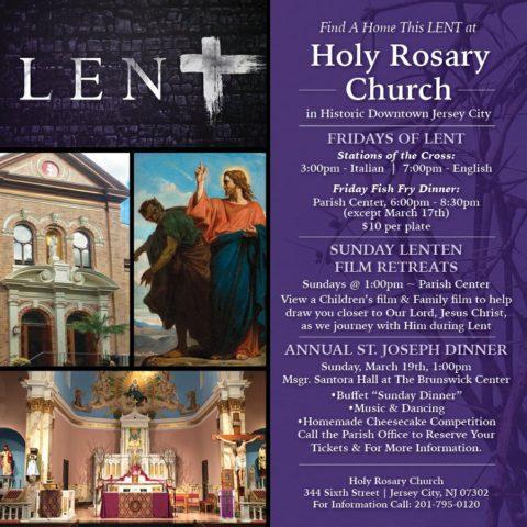 Holy Rosary Lenten ad