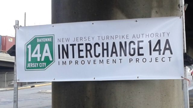 NJ Turnpike 14A Construction Project