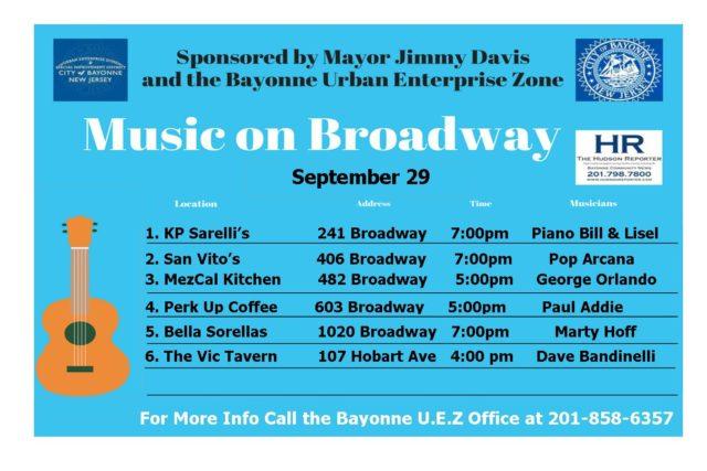 Music Broadway Bayonne