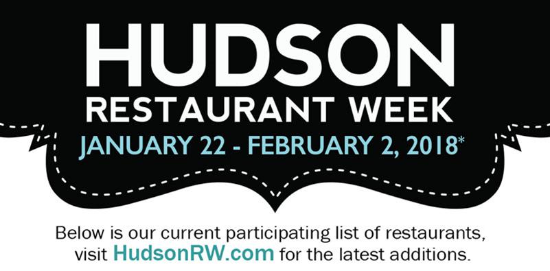 Hudson Restaurant Week 2018