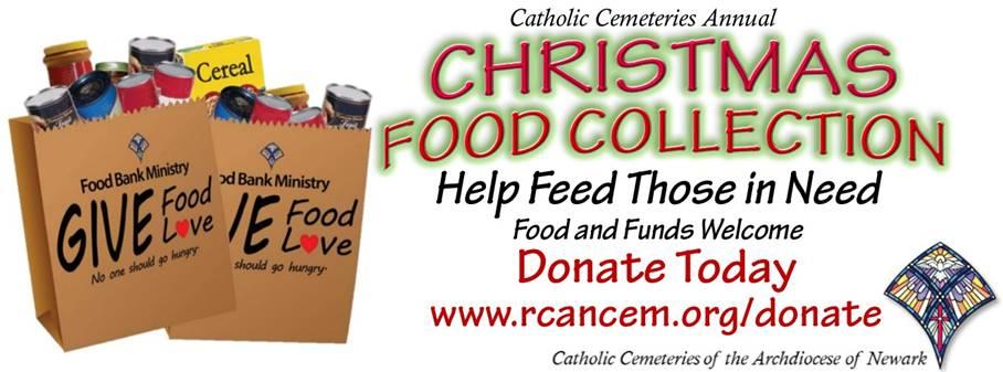 Food Donations Catholic Cemeteries